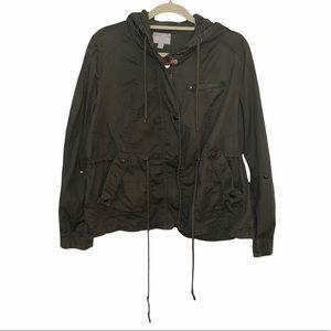 Converse Women's Army Green Utility Jacket